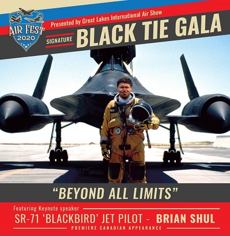 BLACK TIE GALA - AIR FEST 2020